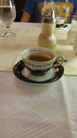кофе на дисерт
