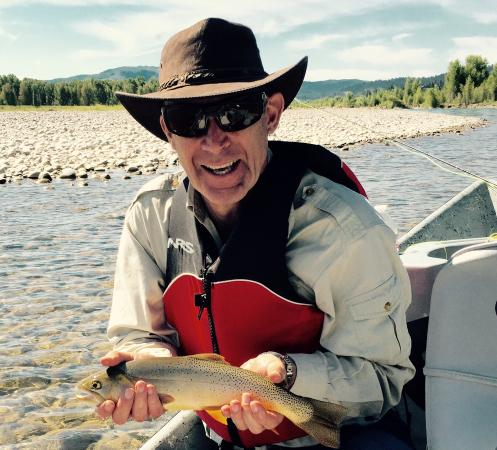 Jackson Hole Anglers : A great cutthroat on the Snake
