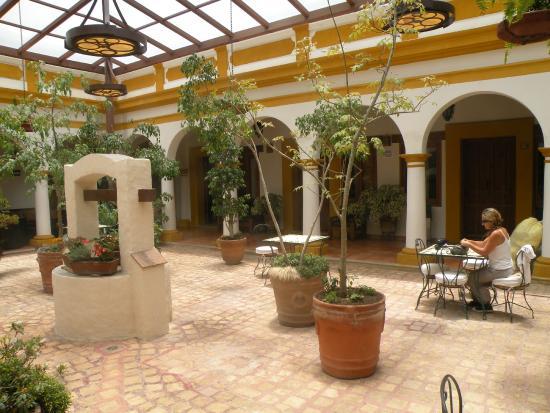 Hotel Casa Margarita: Sympa pour lire