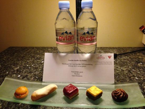 Magny-le-Hongre, Prancis: Dessertbordje