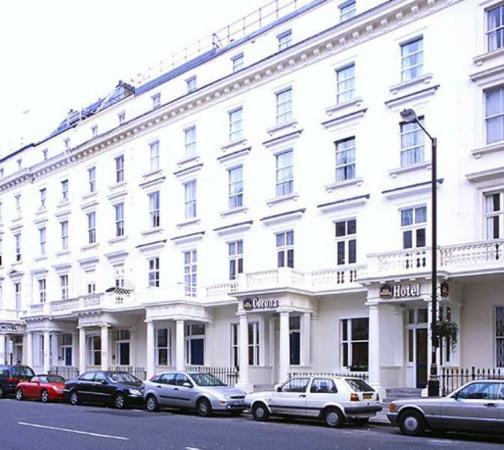 BEST WESTERN Greater London Hotel- вид с улицы