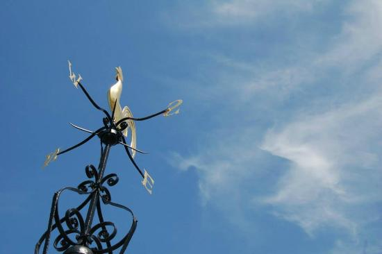 Windvane at the top of Carfax Tower