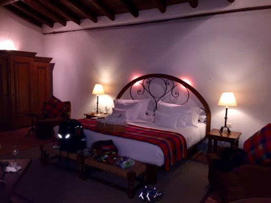 Inkaterra Machu Picchu Pueblo Hotel: Sleeping area