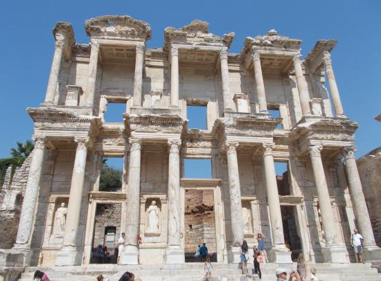 Celsus Library - Picture of Ephesus Shuttle Day Tours ...