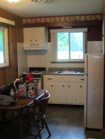 Cowan Lake State Park: View of the kitchen