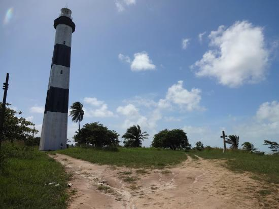 Farol e Praia do Porto de Pedras