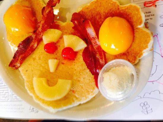 J & L Cafe: This is sure to make any kid smile!