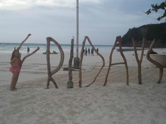 Fridays Boracay Restaurant: ME AT FRIDAYS BORACAY AND BEACH