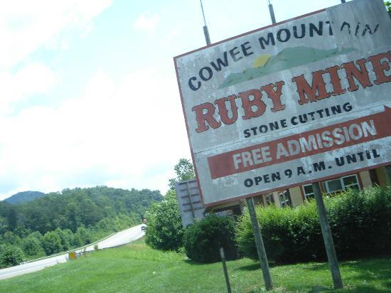 Cowee Mountain Ruby Mine