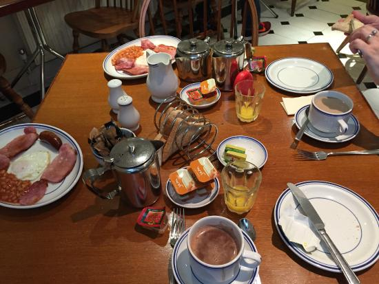 "Jesmond Dene Hotel: Muy rico ""full English breakfast"""