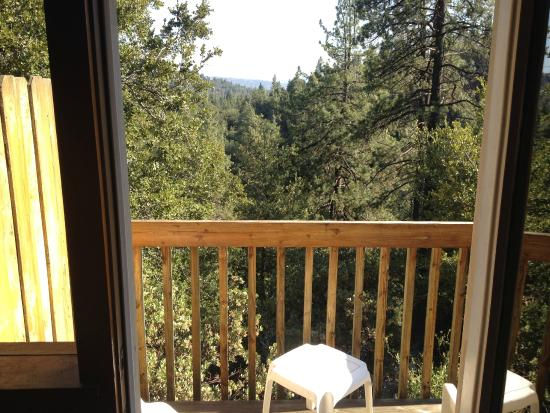 Idyllwild, CA: view from balcony