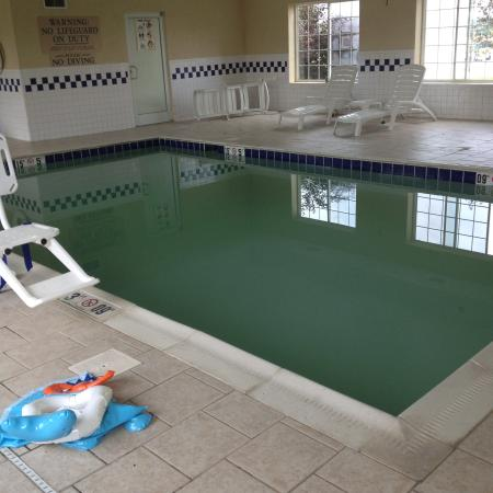 Red Roof Inn and Suites: The (cess)pool!