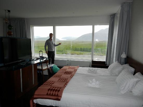 Fosshotel Vatnajokull: stunning