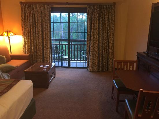 Villas at Disney's Wilderness Lodge: room