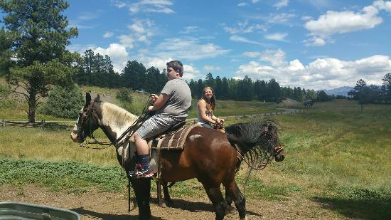 Rocky Mountain Wildlife Park : Horseback riding and some of the animals