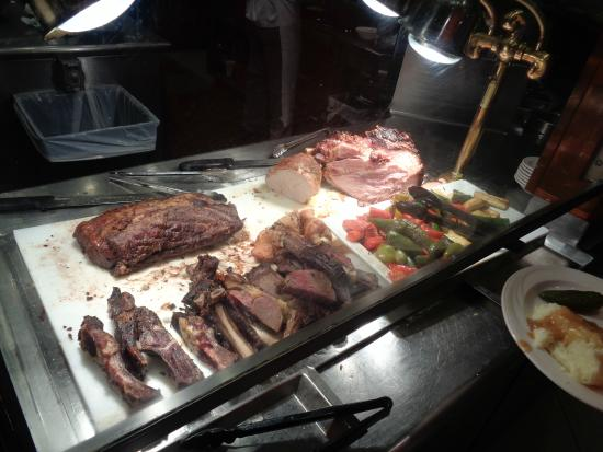 Carving station picture of the buffet las vegas