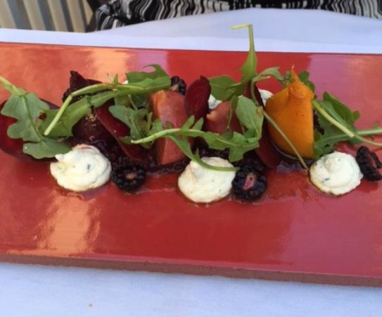 Flea Street Cafe: Marinated Baby Beet Salad