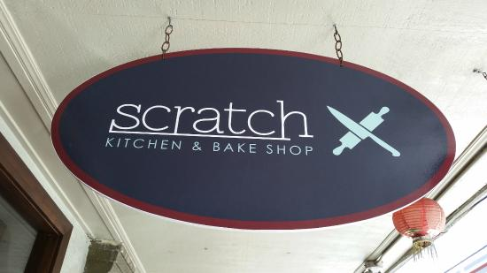 Scratch Kitchen And Bake Shop signage - picture of scratch kitchen & bake shop, honolulu