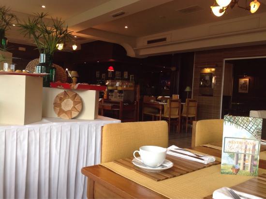 Hotel Colbert: Petit déjeuner