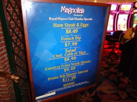 Specials Picture Of Magnolia S Veranda Las Vegas Tripadvisor