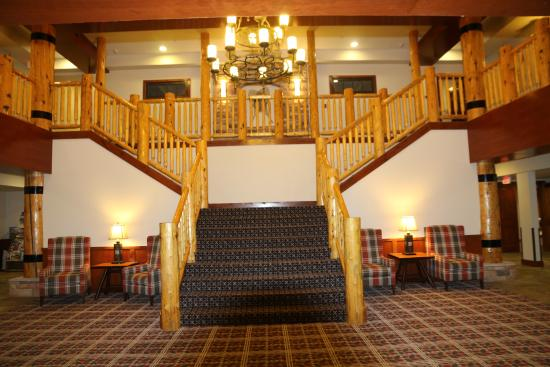 Worldmark West Yellowstone Staircase To The Gym