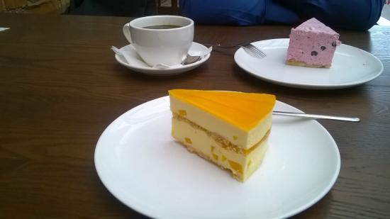 Cake Home: пирожное с маракуйей очень понравилось