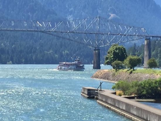 Vancouver, Waszyngton: The Columbia Gorge Riverboat