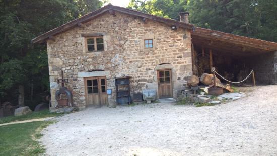 Saint-Bonnet-le-Courreau, Frankrijk: old mill