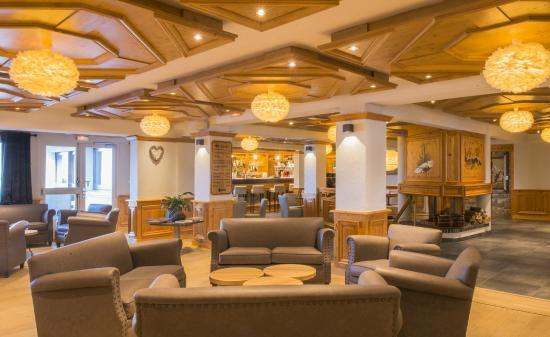 Hotel le Petit Dru: SALON