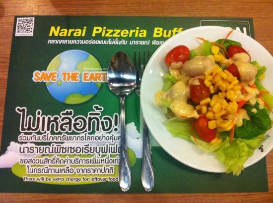 Narai Pizzeria: สลัดผัก