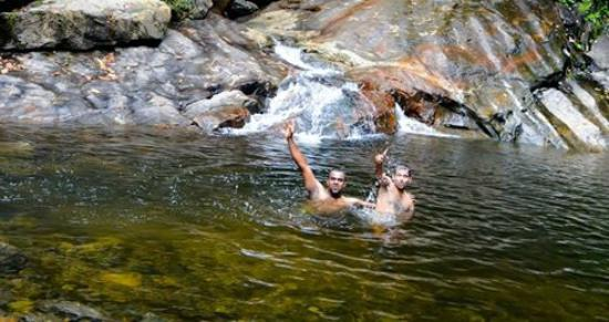 Meenvallam Waterfalls: Meenvallam a natural spa
