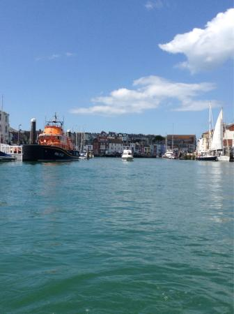 Weymouth, UK: Visit the harbour away from the beach hordes.