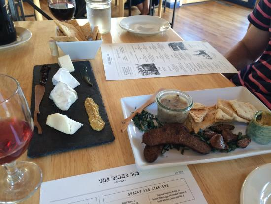 Cheese And Meat Platter It S Byob So Bring Your Favorite Drinks Picture Of The Blind Pig Kitchen Bloomsburg Tripadvisor