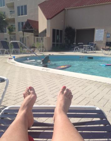 TOPS'L Beach & Racquet Resort: Views from TOPS'L