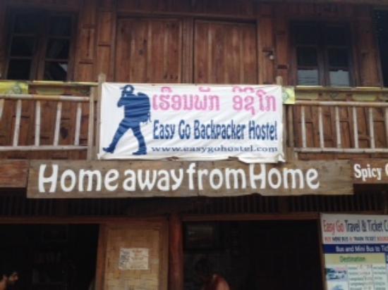 Easy Go Backpacker Hostel: EasyGo sign