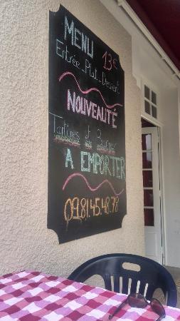 Villedieu-sur-Indre, França: Chez Nos Bistronomes