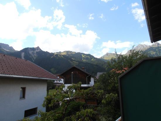 Landgasthof Lilie: Vue du balcon de la chambre