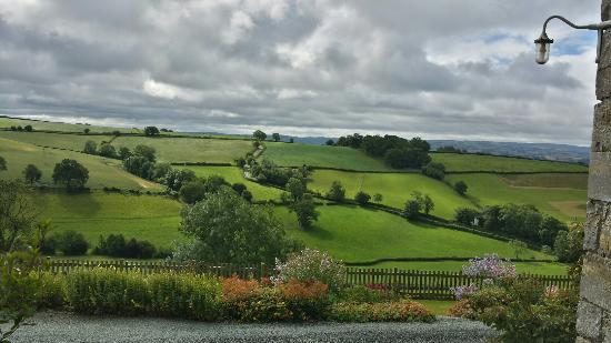 Berriew, UK: View from Cottage