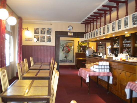 Le Lion d'Argent: Salle du petit déjeuner