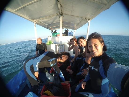 Malapascua Exotic Diving Center: On the way to Dive!
