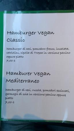 Primafila Music Cafe: Menu