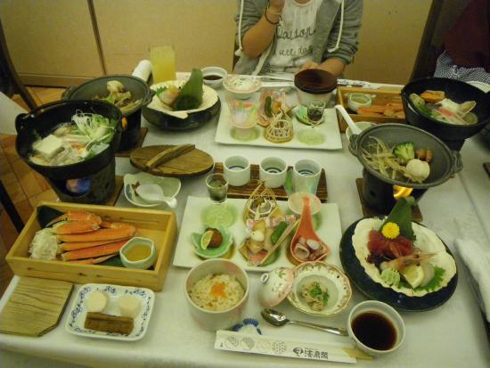 Kaisenkaku: 2014.11 晩ご飯も少量多品種で楽しい