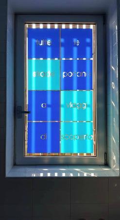 Mod05 Living Hotel : la finestra del nostro bagno