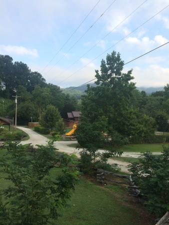 Deep Creek Tube Center & Campground: View from front porch of cabin