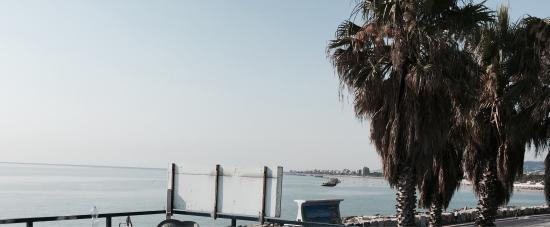 Trattoria Molo Sud : Morning at Molo Sud