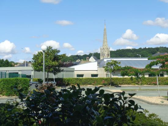 Harfleur, France : vue de la chambre