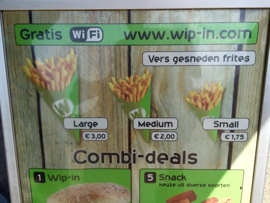 Snackbar Wip In照片