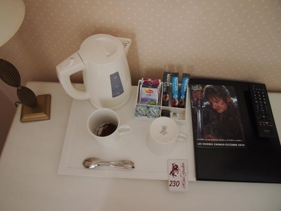 Hotel Gradlon: 机の上