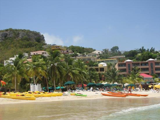 St Maarten Fun Cat Caribbean Boat Charter: The beach