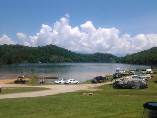 Almond Boat and RV Park : Boat Access if You Bring Your Own